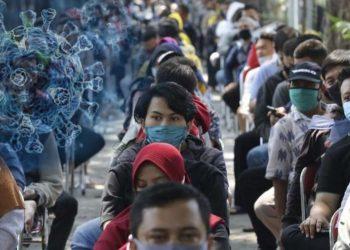 Ilustrasi virus corona. (ANTARA FOTO/Didik Suhartono)