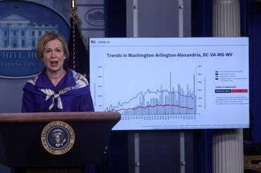 File photo: Dr. Deborah Birx, the White House coronavirus response coordinator, Reuters/Leah Millis/File Photo