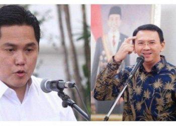 Erick Thohir Menteri BUMN dan Ahok Komisaris Utama Pertamina
