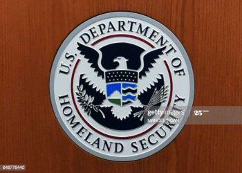 Ilustrasi: Logo Departemen Keamanan Dalam Negeri (Sumber Foto: Getty Images)