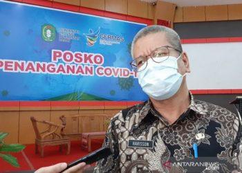 Kepala Dinas Kesehatan Kalbar dr Harisson. (Sumber Foto: ANTARA/Dedi/am).