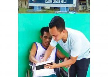 DS Karyawan Kebun Dusun Hulu PTPN III Yang Stroke Didampingi Ketua LBH Bara Jepe Simalungun M. Fauzi Sirait, SH