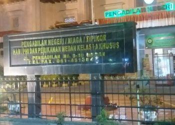 Gedung Pengadilan Negeri (PN) Medan. (ANTARA/Munawar)