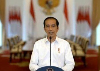Presiden Joko Widodo (Sumber Foto: Tribun-Medan-Tribunnews.com)