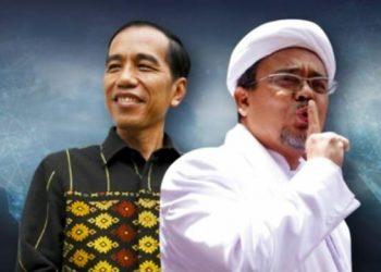 Presiden Jokowi dan HRS